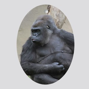 Gorilla Ornament (Oval)