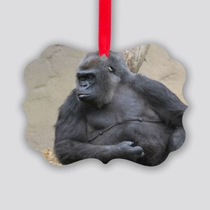 Gorilla Picture Ornament