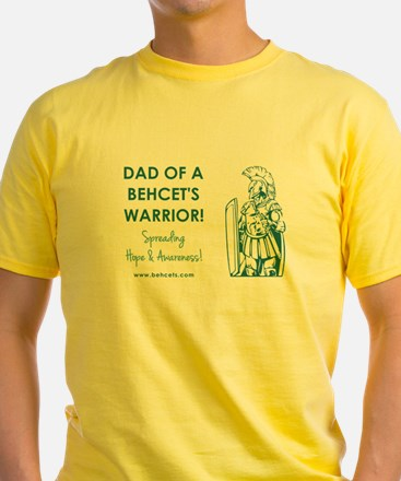 DAD OF A WARRIOR T