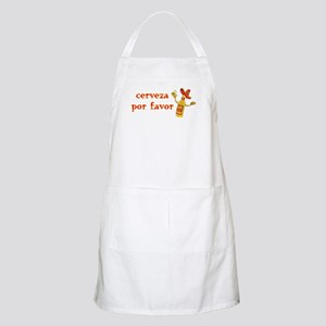 Cerveza Por Favor @Scott Designs BBQ Apron