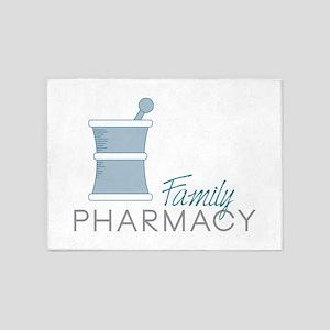 Family Pharmacy 5'x7'Area Rug
