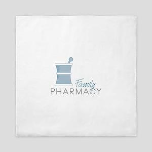 Family Pharmacy Queen Duvet