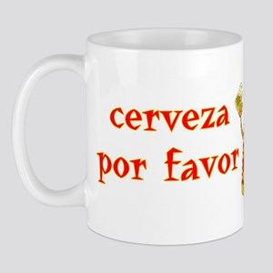 Cerveza Por Favor @Scott Designs Mug