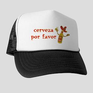 Cerveza Por Favor @Scott Designs Trucker Hat