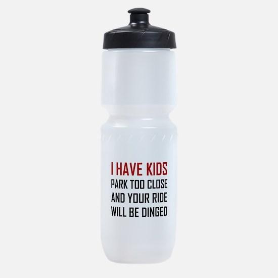 Have Kids Park Too Close Get Dinged Sports Bottle