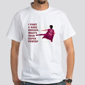 SUPER POWER White T-Shirt