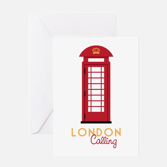 London calling Greeting Cards