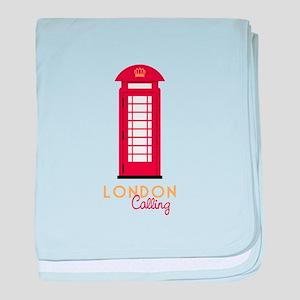 London calling baby blanket