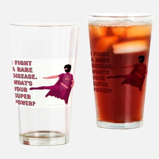 SUPER POWER Drinking Glass