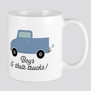 boys and their truck Mugs
