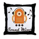 Sound Mixer job gift Throw Pillow