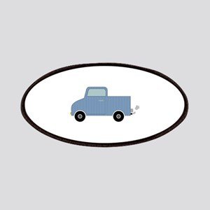 Striped Pick-Up Truck Patch