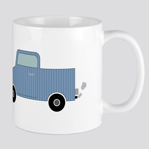 Striped Pick-Up Truck Mugs