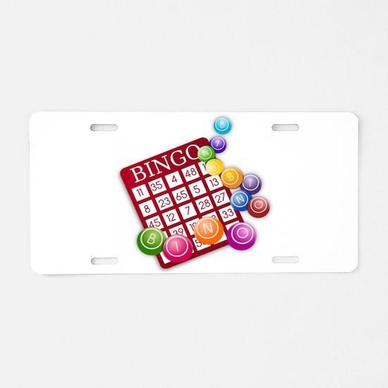 Bingo Aluminum License Plate