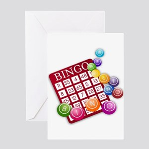 Bingo Greeting Cards