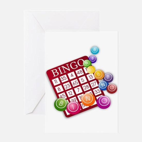 Bingo Greeting Cards