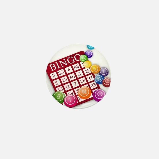 Bingo Mini Button