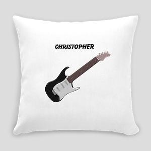 Electric Guitar Everyday Pillow
