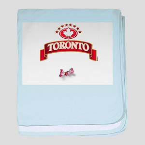 Toronto baby blanket
