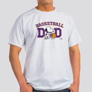 Snoopy Basketball Dad Light T-Shirt
