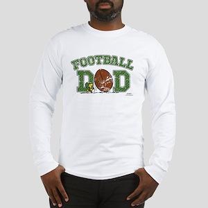 Snoopy Football Dad Long Sleeve T-Shirt