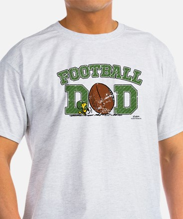 Snoopy Football Dad T-Shirt