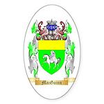 MacGuinn Sticker (Oval 50 pk)