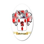 MacGuigan 20x12 Oval Wall Decal