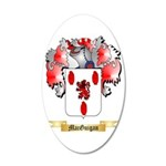 MacGuigan 35x21 Oval Wall Decal