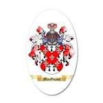 MacGuane 20x12 Oval Wall Decal
