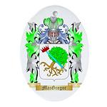 MacGregor Ornament (Oval)
