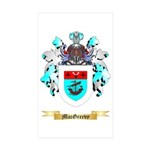 MacGreevy Sticker (Rectangle 50 pk)