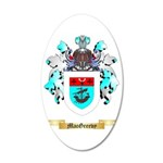 MacGreevy 35x21 Oval Wall Decal