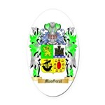 MacGreal Oval Car Magnet