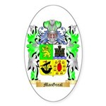 MacGreal Sticker (Oval 50 pk)