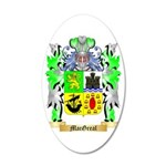 MacGreal 35x21 Oval Wall Decal