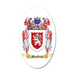 MacGray 20x12 Oval Wall Decal
