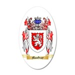 MacGray 35x21 Oval Wall Decal