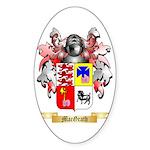 MacGrath Sticker (Oval 50 pk)