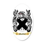 MacGorl Oval Car Magnet