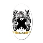 MacGorl 20x12 Oval Wall Decal