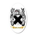 MacGorl 35x21 Oval Wall Decal