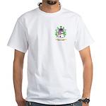 Template White T-Shirt