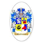 MacGonnell Sticker (Oval 50 pk)