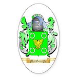MacGonigle Sticker (Oval 50 pk)