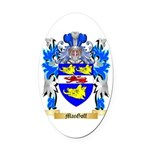 MacGoff Oval Car Magnet
