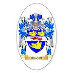 MacGoff Sticker (Oval 50 pk)