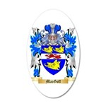 MacGoff 20x12 Oval Wall Decal