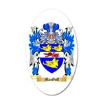 MacGoff 35x21 Oval Wall Decal