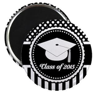 2015 graduation magnets cafepress